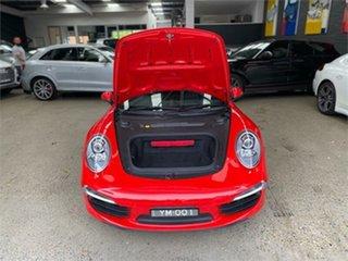 2013 Porsche 911 991 Carrera S Red Sports Automatic Dual Clutch Coupe