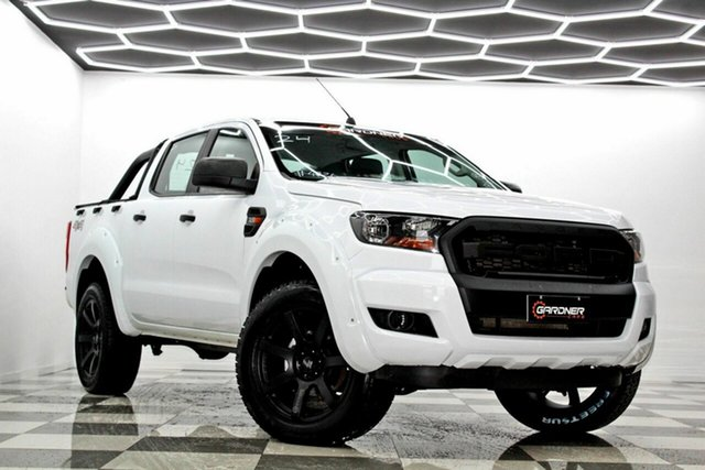 Used Ford Ranger PX MkII MY17 Update XL 3.2 (4x4) Burleigh Heads, 2017 Ford Ranger PX MkII MY17 Update XL 3.2 (4x4) White 6 Speed Automatic Crew Cab Utility