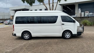 2009 Toyota HiAce KDH223R MY07 Up Commuter White 4 Speed Automatic Bus.