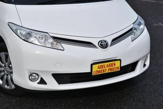 2017 Toyota Tarago ACR50R GLi White 7 Speed Wagon