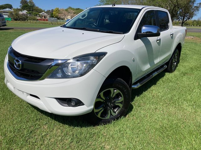 Used Mazda BT-50 MY16 XTR (4x4) South Grafton, 2017 Mazda BT-50 MY16 XTR (4x4) White 6 Speed Automatic Dual Cab Utility