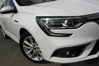 2017 Renault Megane KFB Zen EDC Pearl White 7 Speed Sports Automatic Dual Clutch Wagon.