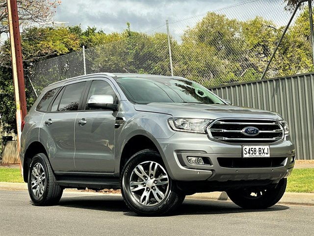 Used Ford Everest UA II 2019.00MY Trend Hyde Park, 2018 Ford Everest UA II 2019.00MY Trend Silver 6 Speed Sports Automatic SUV