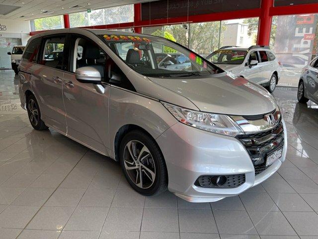 Used Honda Odyssey RC MY17 VTi-L Artarmon, 2017 Honda Odyssey RC MY17 VTi-L Silver 7 Speed Constant Variable Wagon