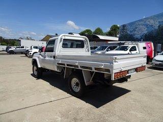 2012 Toyota Landcruiser VDJ79R MY10 GX White 5 Speed Manual Cab Chassis.
