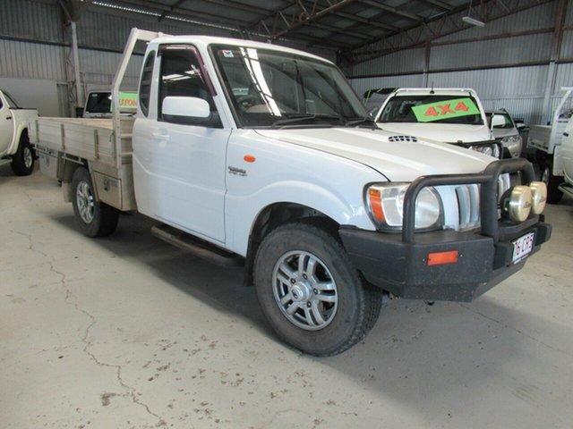 Used Mahindra Pik-Up S5 MY11 4x2, 2012 Mahindra Pik-Up S5 MY11 4x2 White 5 Speed Manual Utility