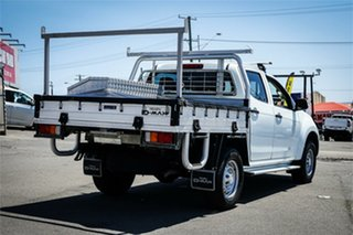 2016 Isuzu D-MAX MY15.5 SX Crew Cab 4x2 High Ride White 5 Speed Sports Automatic Cab Chassis