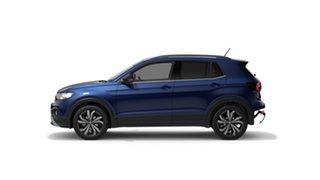 2021 Volkswagen T-Cross C1 MY21 85TSI DSG FWD CityLife Reef Blue Metallic 7 Speed.