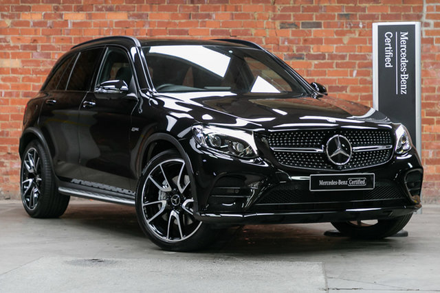 Certified Pre-Owned Mercedes-Benz GLC-Class X253 GLC43 AMG 9G-Tronic 4MATIC Mulgrave, 2016 Mercedes-Benz GLC-Class X253 GLC43 AMG 9G-Tronic 4MATIC Obsidian Black 9 Speed Sports Automatic