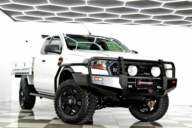 Used Ford Ranger PX MkII MY18 XL 3.2 (4x4) Burleigh Heads, 2017 Ford Ranger PX MkII MY18 XL 3.2 (4x4) White 6 Speed Manual Super Cab Chassis