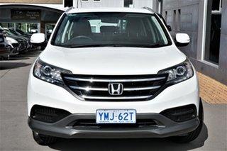 2013 Honda CR-V RM MY14 VTi 4WD White 5 Speed Sports Automatic Wagon.