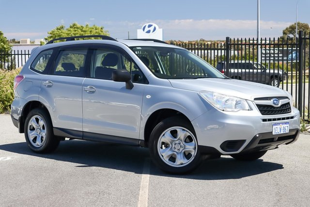 Used Subaru Forester S4 MY14 2.5i Lineartronic AWD Wangara, 2014 Subaru Forester S4 MY14 2.5i Lineartronic AWD Silver 6 Speed Constant Variable Wagon