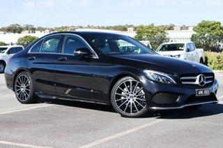 2018 Mercedes-Benz C-Class W205 808MY C200 9G-Tronic Black 9 Speed Sports Automatic Sedan.