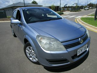 2005 Holden Astra AH CD Silver 4 Speed Automatic Hatchback