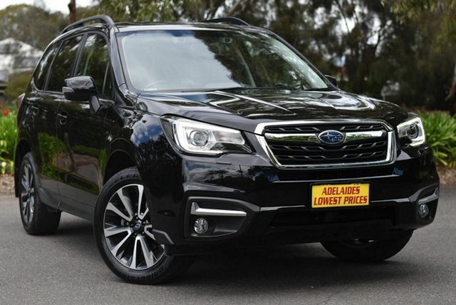 Used Subaru Forester S4 MY18 2.5i-S CVT AWD Melrose Park, 2018 Subaru Forester S4 MY18 2.5i-S CVT AWD Black 6 Speed Constant Variable Wagon