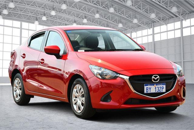 Used Mazda 2 DL2SAA Neo SKYACTIV-Drive Victoria Park, 2016 Mazda 2 DL2SAA Neo SKYACTIV-Drive Burgundy 6 Speed Sports Automatic Sedan