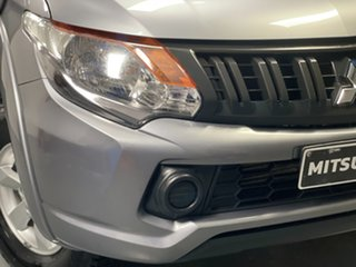 2016 Mitsubishi Triton MQ MY16 GLX+ Double Cab Grey 6 Speed Manual Utility.