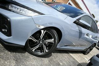 2017 Honda Civic MY17 RS Grey Continuous Variable Hatchback.