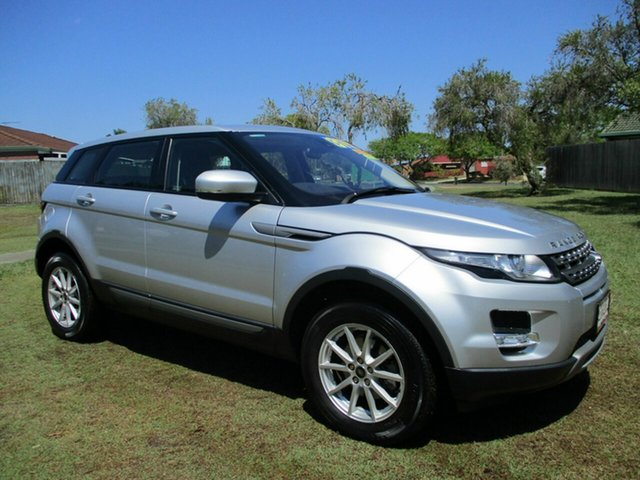 Used Land Rover Range Rover Evoque L538 MY13 Pure Kippa-Ring, 2013 Land Rover Range Rover Evoque L538 MY13 Pure Silver 6 Speed Manual Wagon