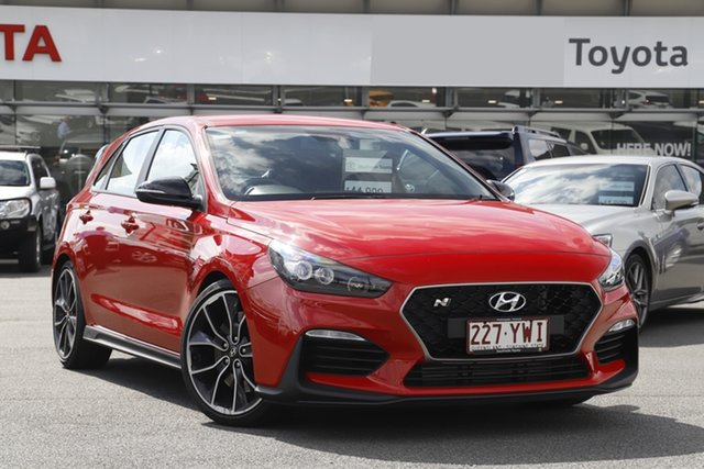 Pre-Owned Hyundai i30 PDe.2 MY19 N Performance Upper Mount Gravatt, 2018 Hyundai i30 PDe.2 MY19 N Performance Red 6 Speed Manual Hatchback