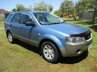 2006 Ford Territory SY TS Blue 4 Speed Sports Automatic Wagon.
