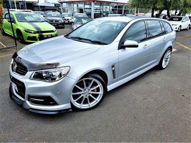 Used Holden Commodore VF MY14 SS Sportwagon Seaford, 2013 Holden Commodore VF MY14 SS Sportwagon Silver 6 Speed Sports Automatic Wagon