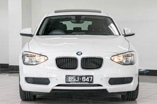 2015 BMW 1 Series F20 MY0714 116i White 6 Speed Manual Hatchback.