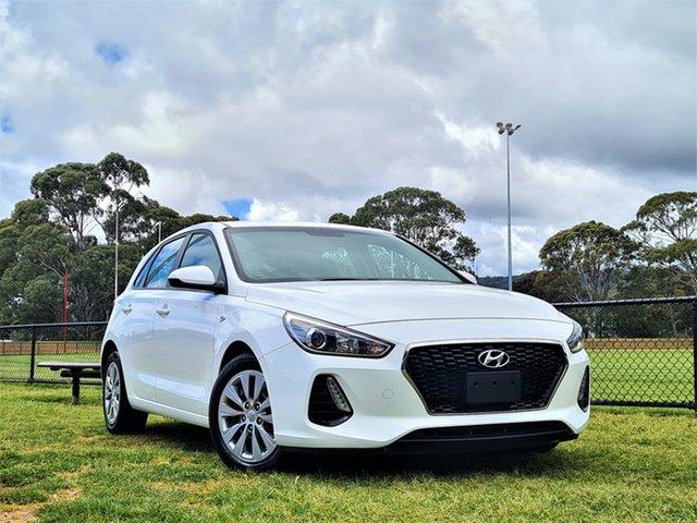 Used Hyundai i30 PD MY19 Go St Marys, 2019 Hyundai i30 PD MY19 Go White 6 Speed Sports Automatic Hatchback