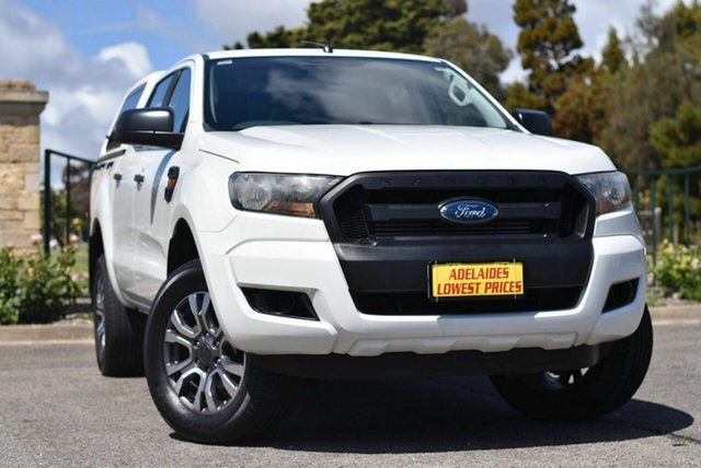 Used Ford Ranger PX MkII XL Hi-Rider Enfield, 2016 Ford Ranger PX MkII XL Hi-Rider White 6 Speed Sports Automatic Utility