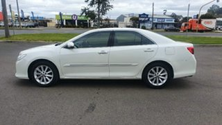 2013 Toyota Aurion GSV50R Prodigy White 6 Speed Sports Automatic Sedan.