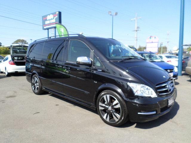 Used Mercedes-Benz Viano Capalaba, 2014 Mercedes-Benz Viano Black Automatic Van