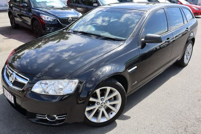 Used Holden Commodore VE II MY12 Equipe Sportwagon Moorooka, 2011 Holden Commodore VE II MY12 Equipe Sportwagon Black 6 Speed Sports Automatic Wagon