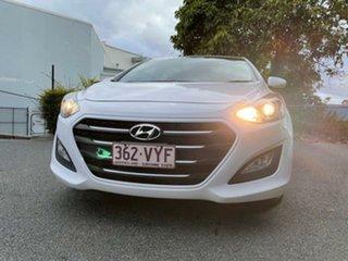 2015 Hyundai i30 GD3 Series II MY16 Active Creamy White 6 Speed Sports Automatic Hatchback.