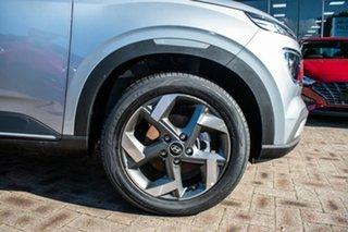 2021 Hyundai Venue QX.V3 MY21 Elite Typhoon Silver 6 Speed Automatic Wagon