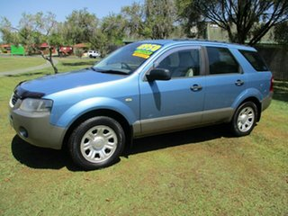 2006 Ford Territory SY TS Blue 4 Speed Sports Automatic Wagon