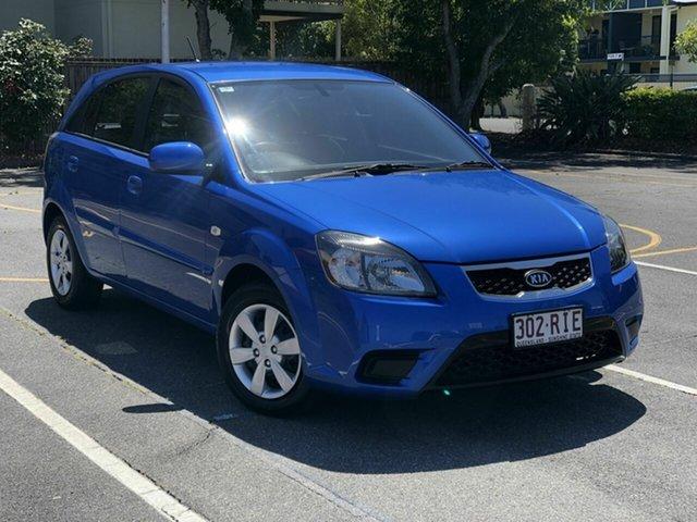 Used Kia Rio JB MY11 S Chermside, 2010 Kia Rio JB MY11 S Blue 4 Speed Automatic Hatchback