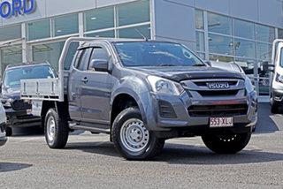 2017 Isuzu D-MAX MY17 SX Space Cab Grey 6 Speed Sports Automatic Cab Chassis.