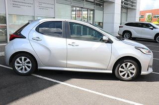2020 Toyota Yaris NCP131R SX Silver Pearl 4 Speed Automatic Hatchback