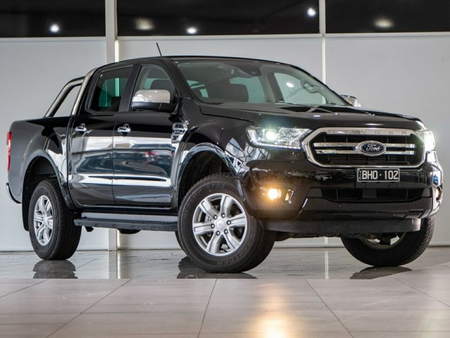 Used Ford Ranger PX MkIII 2020.75MY XLT Deer Park, 2020 Ford Ranger PX MkIII 2020.75MY XLT Shadow Black 10 Speed Sports Automatic Double Cab Pick Up