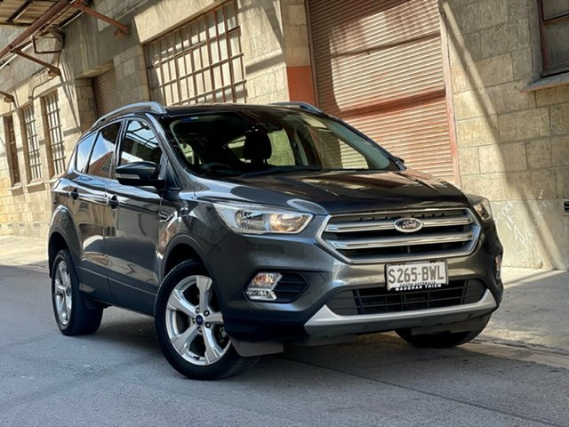 Used Ford Escape ZG 2018.00MY Trend Cheltenham, 2018 Ford Escape ZG 2018.00MY Trend Grey 6 Speed Sports Automatic SUV
