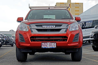 2017 Isuzu D-MAX MY17 SX Space Cab 4x2 High Ride Red 6 Speed Sports Automatic Utility.