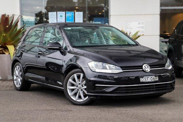 Used Volkswagen Golf 7.5 MY18 110TSI DSG Comfortline Sutherland, 2018 Volkswagen Golf 7.5 MY18 110TSI DSG Comfortline Black 7 Speed Sports Automatic Dual Clutch