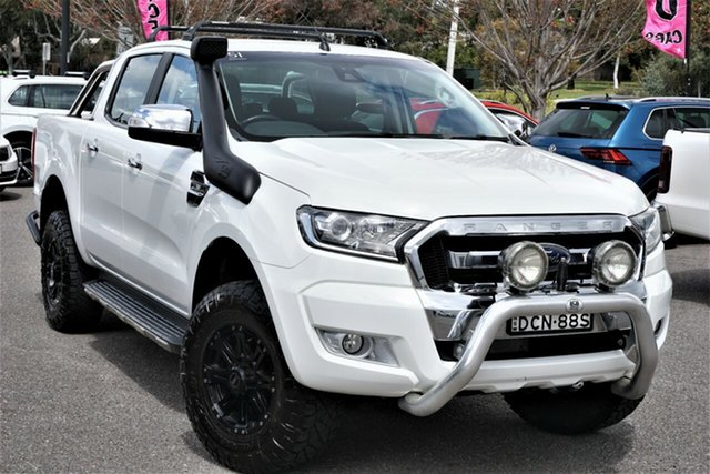 Used Ford Ranger PX MkII XLT Double Cab Phillip, 2016 Ford Ranger PX MkII XLT Double Cab White 6 Speed Sports Automatic Utility