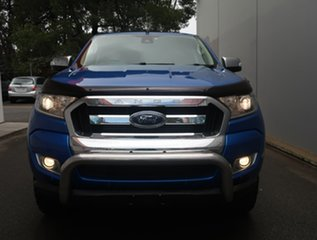 2018 Ford Ranger PX MkII 2018.00MY XLT Double Cab Blue 6 Speed Sports Automatic Utility