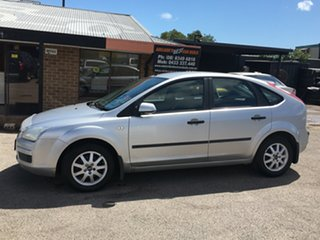 2006 Ford Focus LS LX Silver 5 Speed Manual Hatchback.