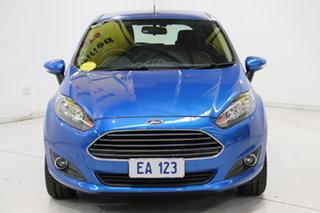 2017 Ford Fiesta WZ Trend PwrShift Blue 6 Speed Sports Automatic Dual Clutch Hatchback.