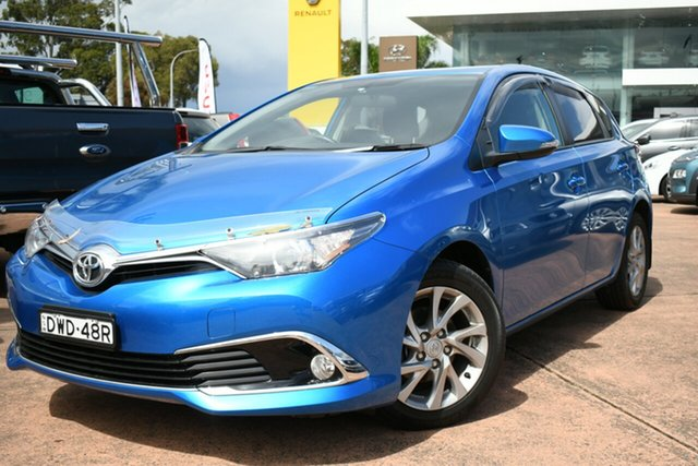 Used Toyota Corolla ZRE182R MY17 Ascent Sport Brookvale, 2018 Toyota Corolla ZRE182R MY17 Ascent Sport Blue 7 Speed CVT Auto Sequential Hatchback