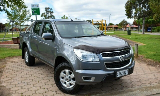 Used Holden Colorado RG MY16 LS-X Crew Cab Ingle Farm, 2016 Holden Colorado RG MY16 LS-X Crew Cab Grey 6 Speed Sports Automatic Utility