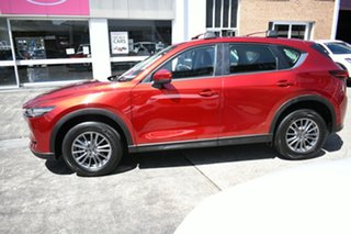 2017 Mazda CX-5 MY17.5 (KF Series 2) Touring (4x4) Red 6 Speed Automatic Wagon