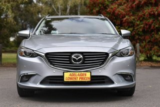 2016 Mazda 6 GJ1032 Atenza SKYACTIV-Drive Silver 6 Speed Sports Automatic Wagon.